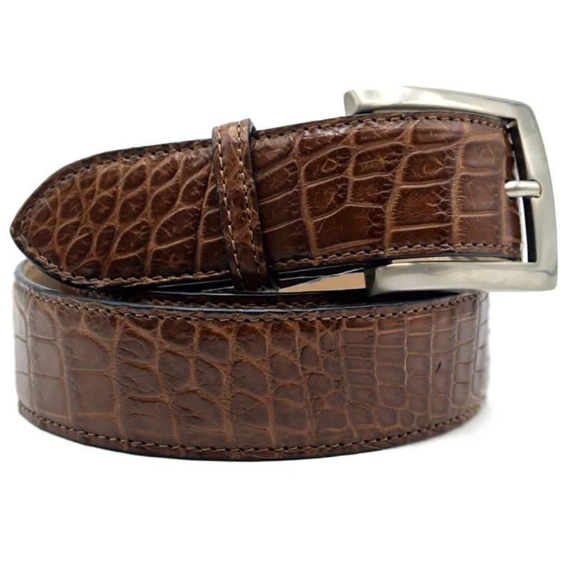 Zelli Nile Crocodile Belt Cognac Image