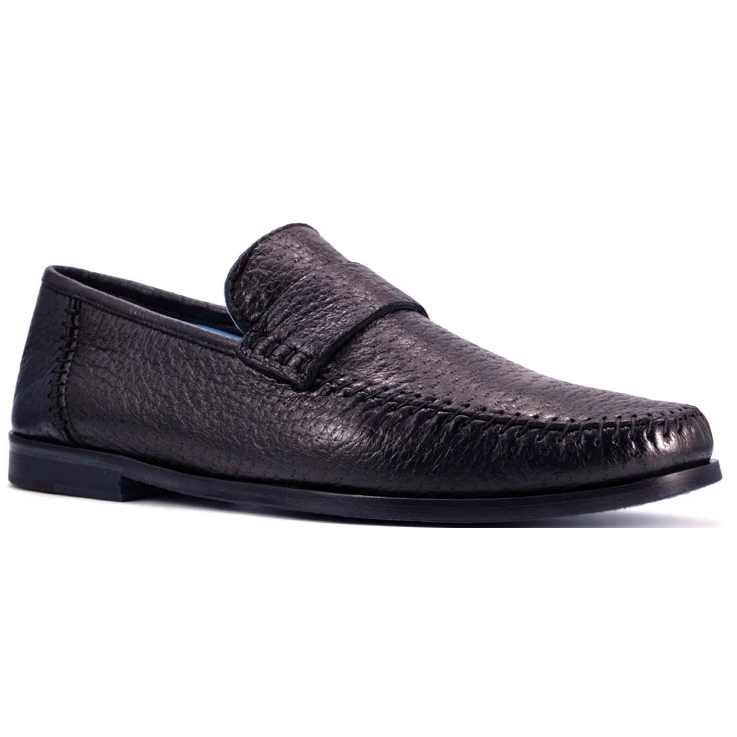 Zelli Parma Peccary Loafers Brown Image