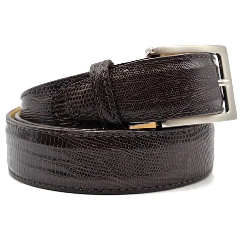Zelli Teju Lizard Belt Brown Image