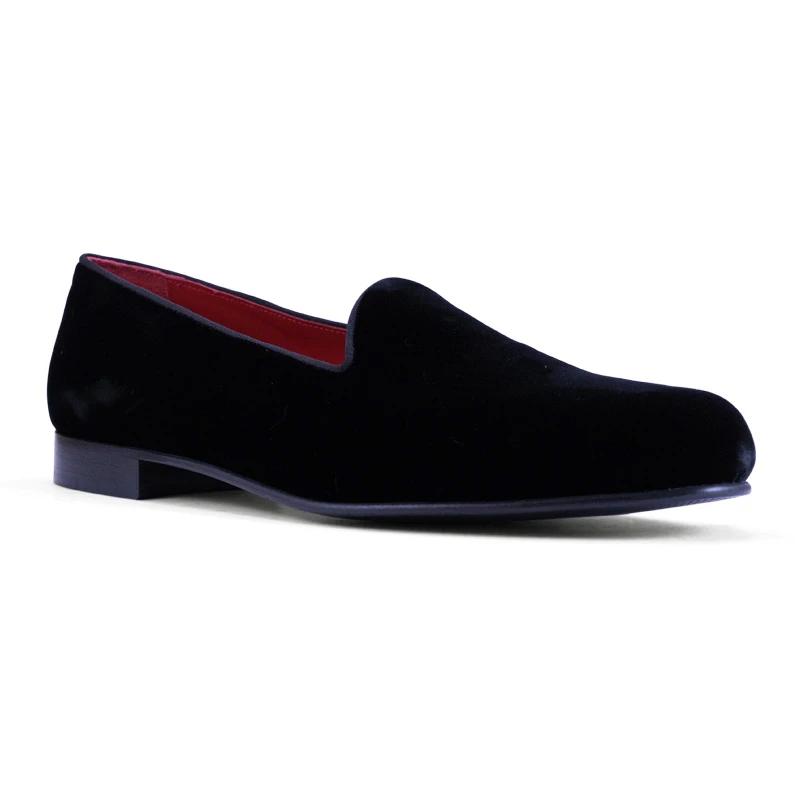 Zelli Velvet Tuxedo Shoes Black Image