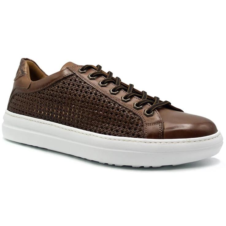 Zelli Vento Woven Sneakers Cinnamon Image