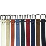 Calzoleria Toscana Suede Belt Jean Blue Image