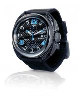 Locman Mens Mare Watch Black 134CRBBL Image