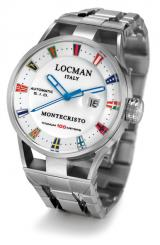 Locman Mens Monte Cristo Italian Yaht Club Watch 511YBWH Image