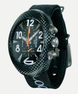 Locman Mens Nuovo Carbonia Watch Black 100BKCRBQ Image
