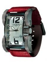 Locman Mens Latin Lover Diamond Watch Red 500D0AG0005LUR Image