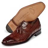Mauri 1029 Impero Alligator Derby Shoes Sport Rust (SPECIAL ORDER) Image