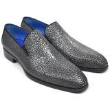 Paul Parkman Genuine Stingray Loafers Image