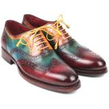 Paul Parkman Goodyear Welted Wingtip Oxfords Multi Color Image