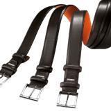 Santoni AA3E OEN Calfskin Belt Black Image