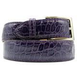 Zelli Alligator Belt Dark Purple Image