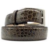 Zelli Alligator Belt Nicotine Image