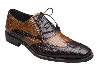 Mezlan Dade Crocodile Shoes