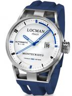 Locman Mens Monte Cristo Automatic Watch White/Blue 511WHBLBL Image
