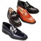 Mauri 4692 Spada Alligator Bit Loafers Image