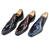 Calzoleria Toscana 1506 Patent Leather Oxfords Image
