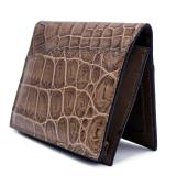 Gracen Nile Crocodile Card Case Cappucino Image
