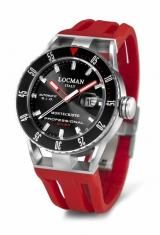 Locman Mens Monte Cristo Professional Diving Watch Red 513BKRDRD Image