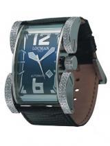 Locman Mens Latin Lover Diamond Watch Black 500D0BK0005LUK Image
