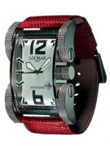 Locman Mens Latin Lover Diamond Watch Red 500D0AG0005LUR Image