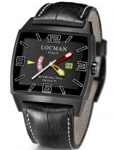 Locman Mens Stealth GMT Video Watch Black 30000BLFYLRPSB Image