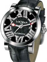 Locman Mens Toscano Diamond Watch Black 29000BKNDNCAOK  Image
