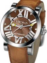Locman Mens Toscano Watch Brown 29000BNNNKCAON Image