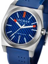 Locman Mens Stealth Watch Dark Blue 201BLKVL Image