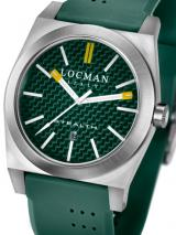 Locman Mens Stealth Watch Green 201GRVL Image
