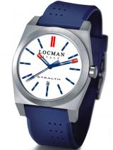 Locman Mens Stealth Watch White 201WHBLBL Image