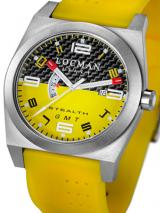 Locman Mens Stealth Watch Yellow 200CRBYLYL Image