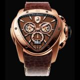 Tonino Lamborghini Spyder 1011 Chronographic Watch Gold/Brown Image