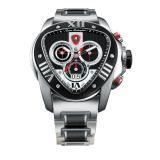 Tonino Lamborghini Spyder 1014 Stainless Steel Chronographic Watch Black Image