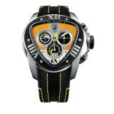 Tonino Lamborghini Spyder 1017 Chronographic Watch Black/Yellow Image