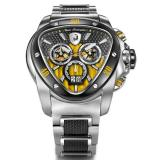 Tonino Lamborghini Spyder 1116 Stainless Steel Chronographic Watch Black/Yellow Image