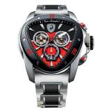 Tonino Lamborghini Spyder 1115 Stainless Steel Chronographic Watch Black/Red Image
