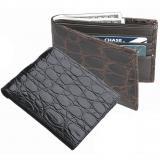 Zelli Crocodile Bi-Fold Wallet  Image