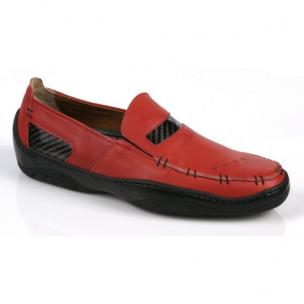 Michael Toschi Mach Driving Shoes Red  Image