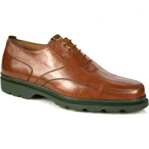 Michael Toschi G5 Golf Shoes Brown/Green Sole Image