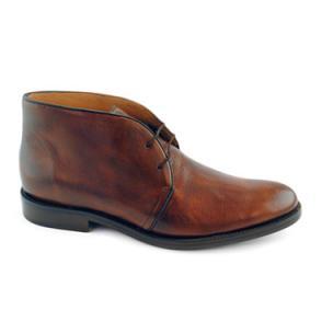 Alan Payne Alan Deerskin Chukka Boots Almond Image