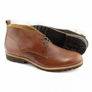 Alan Payne Alex Deerskin Boots Brandy Image