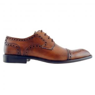 Alan Payne Pascual Cap Toe Brogues Maple Image