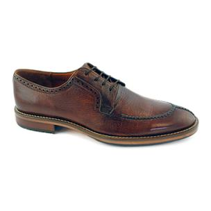 Alan Payne Wimbley Deerskin Split Toe Shoes Cognac Image