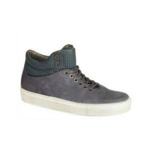 Bacco Bucci Abati High Top Sneakers Blue Image