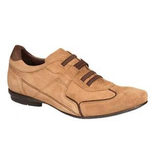 Bacco Bucci Adria Suede Casual Shoes Tan Image