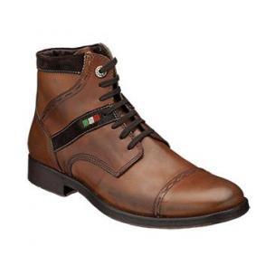 Bacco Bucci Barone Cap Toe Boots Cognac Image