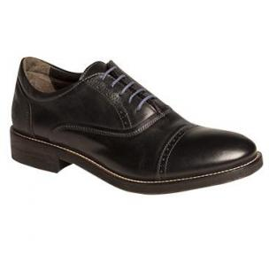 Bacco Bucci Boni Cap Toe Shoes Black Image