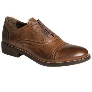 Bacco Bucci Boni Cap Toe Shoes Brown Image