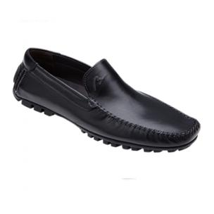 Bacco Bucci Enrico Driving Shoes Black Image