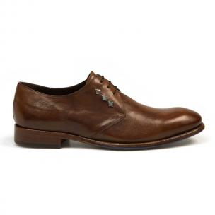 Bacco Bucci Giulio Calfskin Shoes Brown Image